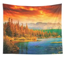 Waterscape I Wall Tapestry