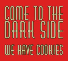 Come To Dark Side One Piece - Short Sleeve