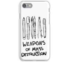 Weapons of Mass Destruction iPhone Case/Skin