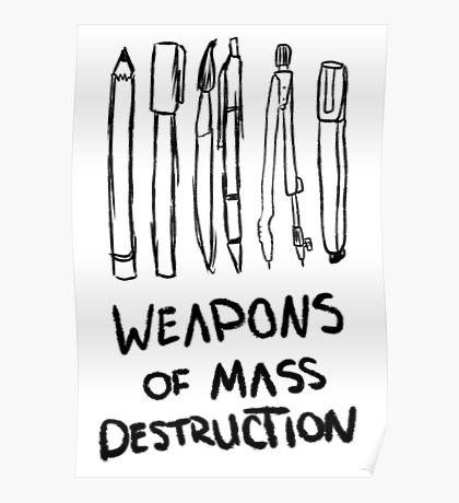 Weapons of Mass Destruction Poster