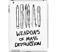 Weapons of Mass Destruction iPad Case/Skin