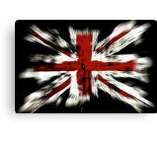 UK Flag England Canvas Print
