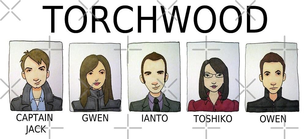 TORCHWOOD by Bantambb