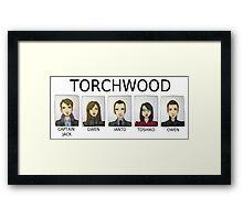 TORCHWOOD Framed Print