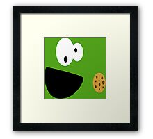 Elmo Cookie Framed Print