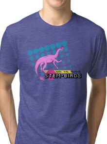 Ask Me About Stem-Birds Tri-blend T-Shirt
