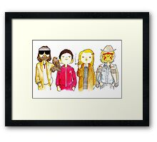 Royal Tenenbaum bought the house on Archer Avenue in the winter of his 35th year Framed Print