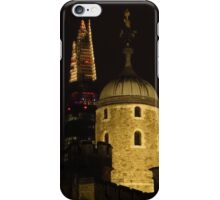 The Tower of London & The Shard iPhone Case/Skin