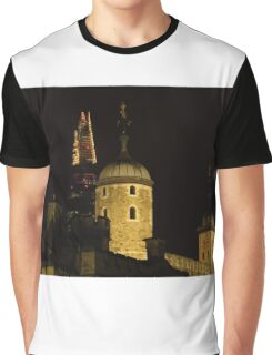 The Tower of London & The Shard Graphic T-Shirt