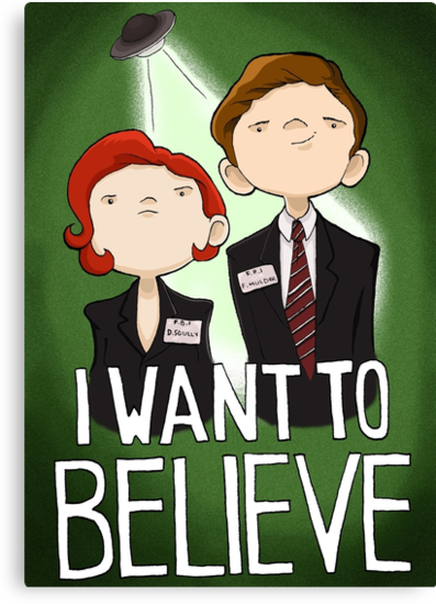 I WANT to BELIEVE by Bantambb