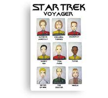 STAR TREK VOYAGER  Canvas Print