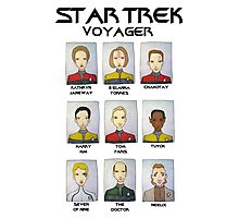 STAR TREK VOYAGER  Photographic Print