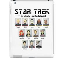 STAR TREK THE NEXT GENERATION iPad Case/Skin