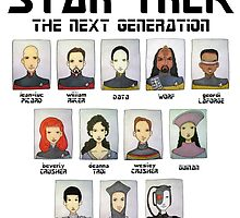 STAR TREK THE NEXT GENERATION by Bantambb