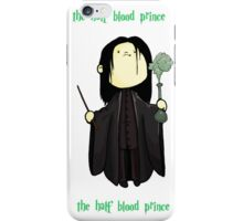 the half-blooded prince iPhone Case/Skin