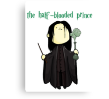 the half-blooded prince Canvas Print