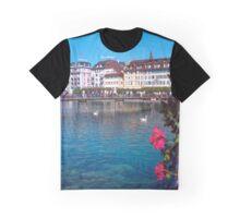 Luzern in Summer Graphic T-Shirt
