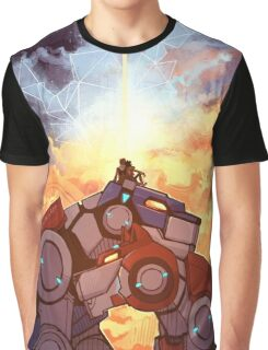 Fire and Ice Graphic T-Shirt