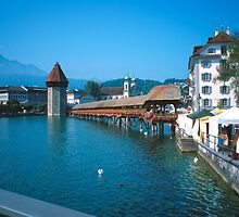 Luzern in Summer 2 by Priscilla Turner