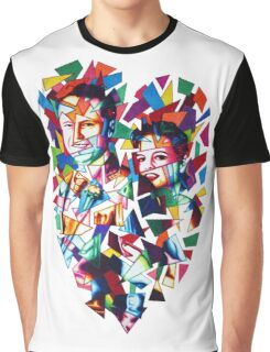 Unbreakable Glass Hearts Graphic T-Shirt