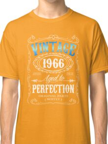 Vintage 1966 aged to perfection 50th birthday gift for men 1966 birthday Classic T-Shirt