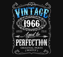 Vintage 1966 aged to perfection 50th birthday gift for men 1966 birthday Unisex T-Shirt