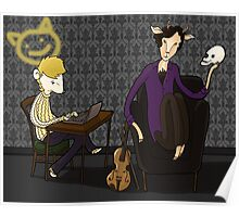 221 B quiet time Poster
