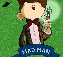 Mad Man 11th Doctor by Bantambb