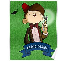Mad Man 11th Doctor Poster