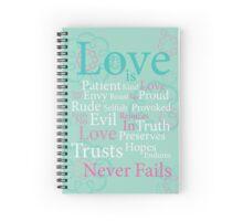 Love is... Spiral Notebook