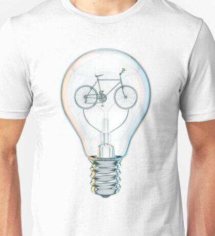 Light Bicycle Bulb Unisex T-Shirt