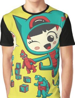 Tiny Monster Graphic T-Shirt