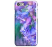 Delphinium Abstract iPhone Case/Skin
