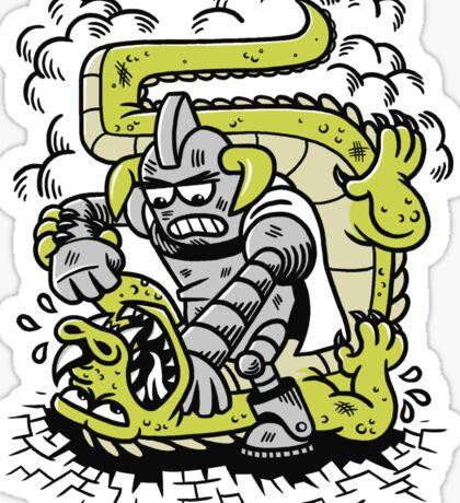 Kaiju Killer Sticker
