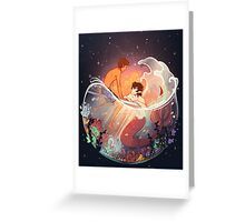 Flowers and Stars Greeting Card