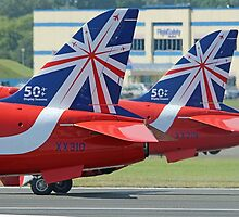 The Reds - Ready To Roll ! - Farnborough 2014 by Colin  Williams Photography