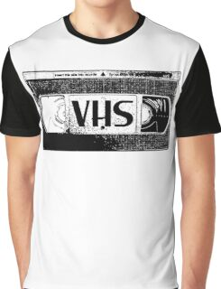 VHS Video Cassette Graphic T-Shirt