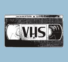 VHS Video Cassette Kids Tee