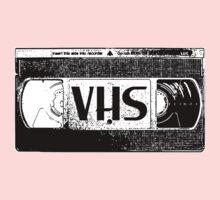 VHS Video Cassette One Piece - Short Sleeve