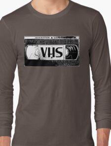 VHS Video Cassette Long Sleeve T-Shirt