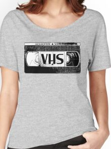 VHS Video Cassette Women's Relaxed Fit T-Shirt