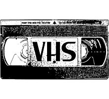 VHS Video Cassette Photographic Print