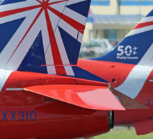 The Reds - Ready To Roll ! - Farnborough 2014 Sticker