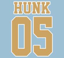 Hunk Sport Jersey One Piece - Short Sleeve