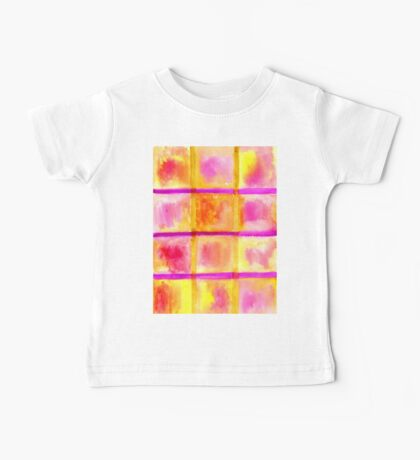 Painted Squares Art 3 Baby Tee