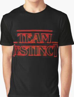 Stranger Team Instinct Graphic T-Shirt