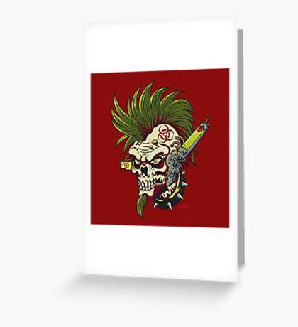 Cyber Punk Greeting Card