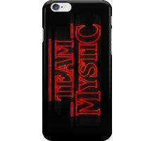 Stranger Team Mystic iPhone Case/Skin
