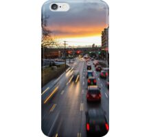 Memorial Drive Sunset iPhone Case/Skin