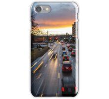 Memorial Drive Sunset iPhone Case/Skin